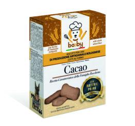 booby biscotti cani al cacao