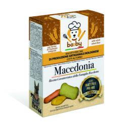 biscotto per cani alla macedonia