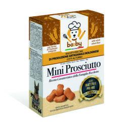 biscotti per cane al prosciutto